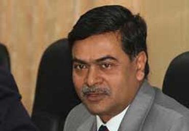 Home Secretary R K Singh