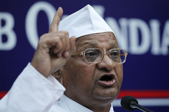 The threat of another indefinite fast by Anna Hazare is looming large