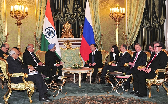 Dr Singh finalised the terms of reference for the Line of Credit for the third and fourth units in Russia on Friday