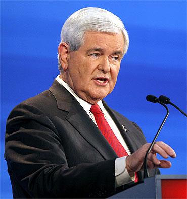 Former US Speaker of the House Newt Gingrich (R-GA)