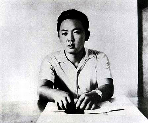 Kim Jong-il in his youth