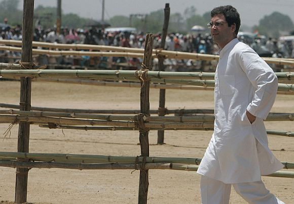 Rahul's aggressive campaign may strike the right note with voters