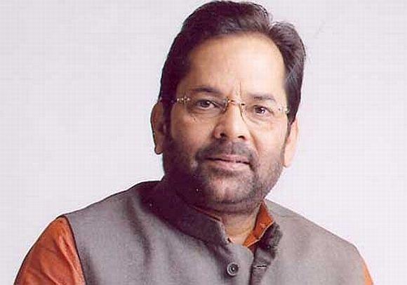 BJP Rajya Sabha member Mukhtar Abbas Naqvi