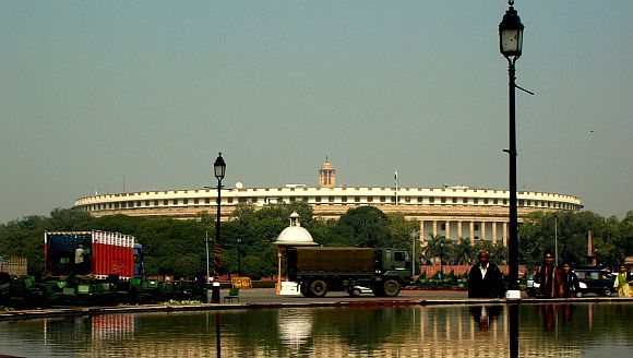 'Congress responsible for Parliament not functioning'