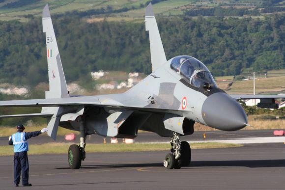IAF chief flies SU-30 MKI to restore pilots' confidence