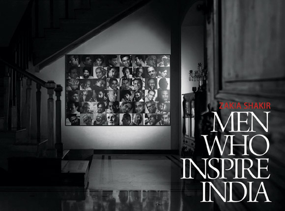 The cover of 'Men Who Inspire India'