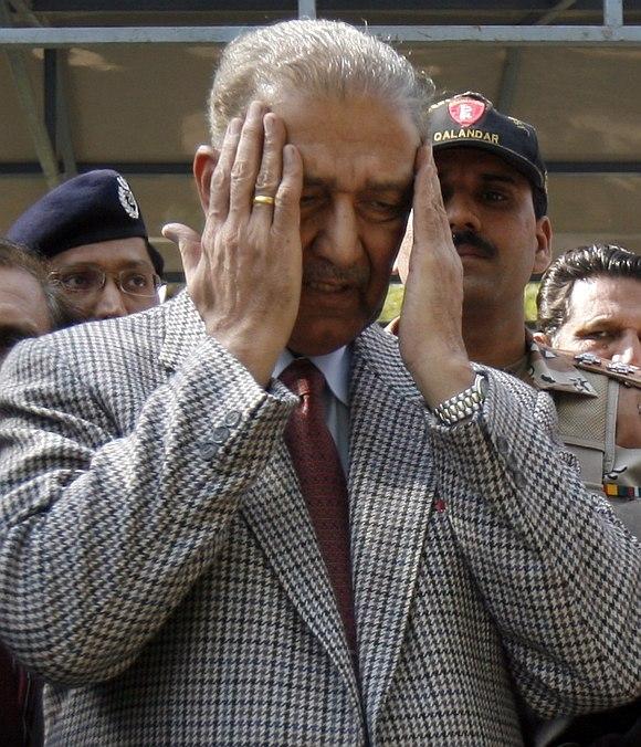 Pakistan's leading nuclear scientist Abdul Qadeer Khan