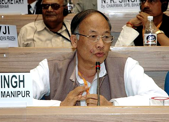 Manipur CM Okram Ibobi Singh
