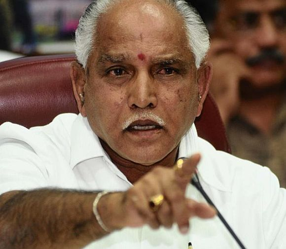 Karnataka's former Chief Minister B S Yeddyurappa