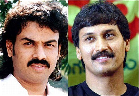 (Left) Madhu Bangarappa and Kumar Bangarappa