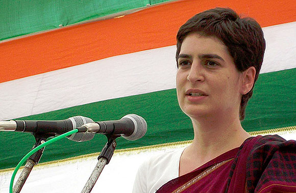 Priyanka may campaign in Nehru-Gandhi bastions