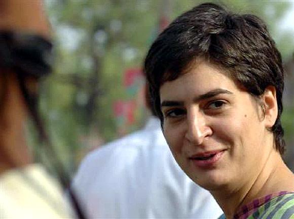 Priyanka may campaign in Nehru-Gandhi bastions