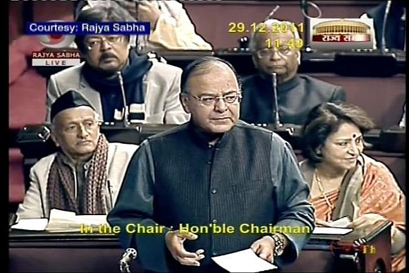 PM, Pranab choreographed events in Rajya Sabha on Lokpal: BJP
