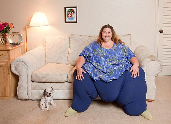 World's Heaviest Living Woman: Pauline Potter