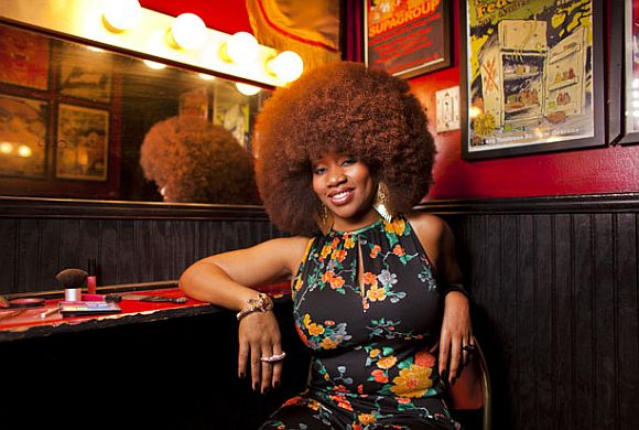 World's Largest Afro: Aevin Dugas