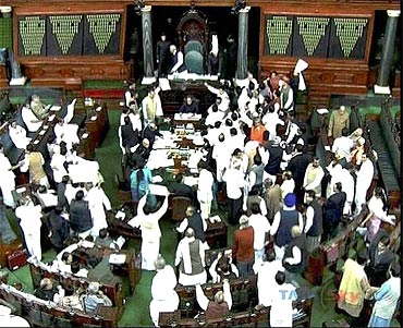 A debate in Parliament