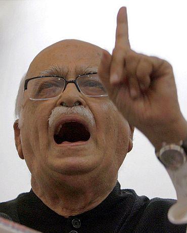 File photo of BJP leader LK Advani
