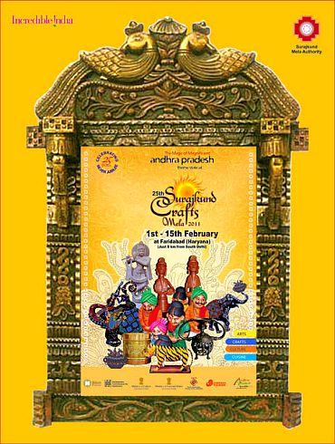 Surajkund crafts fair 2011 is on!