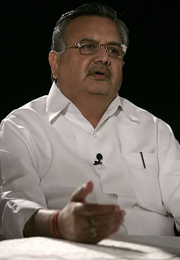 Chhattisgarh Chief Minister Raman Singh