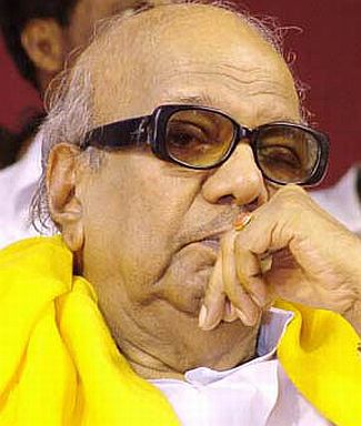 Tamil Nadu Chief Minister M Karunanidhi