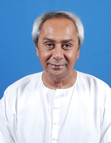 Orissa Chief Minister Naveen Patnaik