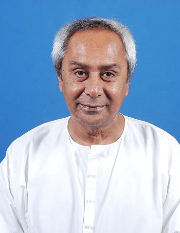 Orissa CM Naveen Patnaik