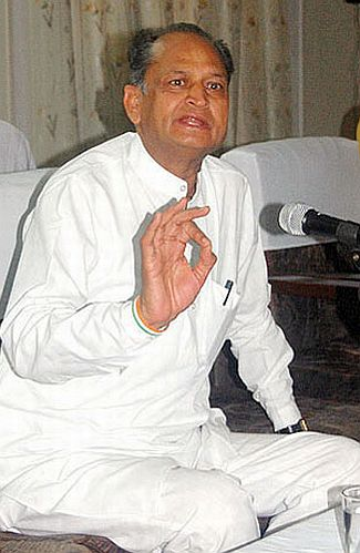 Rajasthan Chief Minister Ashok Gehlot