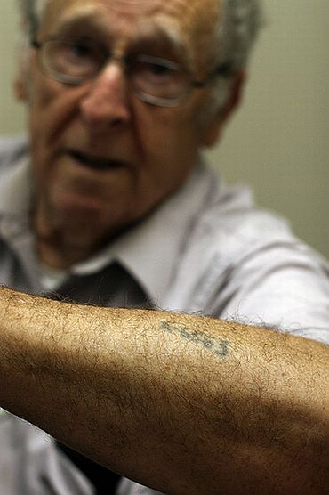 The infamous Auschwitz tattoo