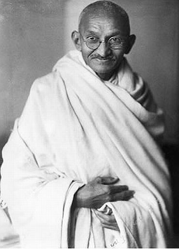 Archive photo of Mahatma Gandhi