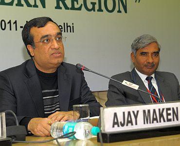 Sports Minister Ajay Maken