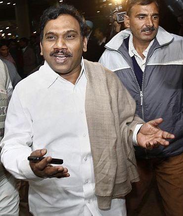 DMK bowls Congress with A Raja googly