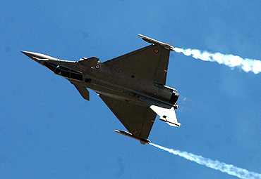 Eurofighter in action