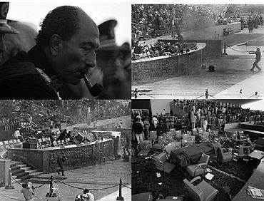 Egypt's former president Anwar Sadat was assasinated in 1981