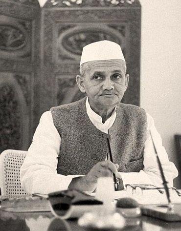 Then prime minister Lal Bahadur Shastri