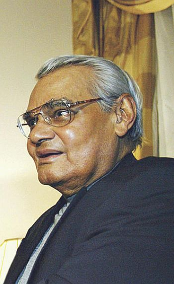 Atal Bihari Vajpayee, under whose prime ministership India conducted the 1998 nuclear tests