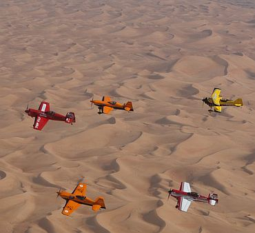 In PHOTOS: The daring Al-Ain Aerobatics show