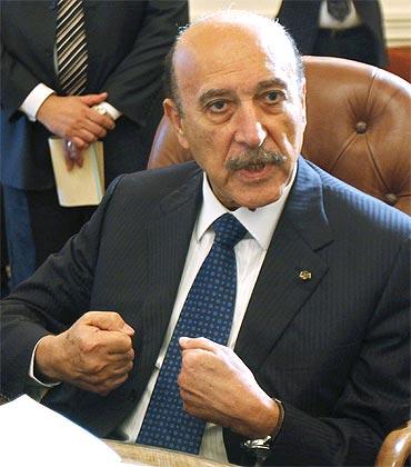 Egyptian Vice President Omar Suleiman