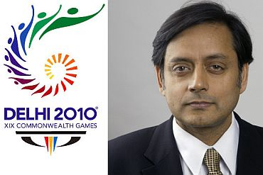 Tharoor's back in news. This time for CWG payment