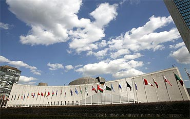 The United Nations in New York.