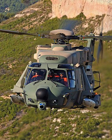 Eurocopter NH 90 is a twin engine, tactical transport and multi-role naval helicopter