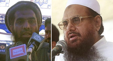 LeT's Zaki-ur-Rehman Lakhvi and Hafiz Saeed are the perpetrators of the 26/11 attacks