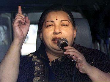 AIADMK chief Jayalalitha