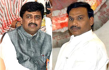 Former Maharashtra CM Ashok Chavan and former telecom minister A Raja had to step down for their alleged involvement in the Adarsh and 2G scams respectively