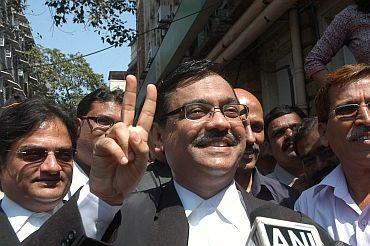 Special Public Prosecutor Ujjwal Nikam speaks to mediapersons on Monday
