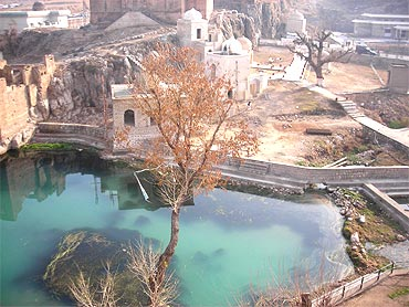 A temple in Chakwal, Pakistan