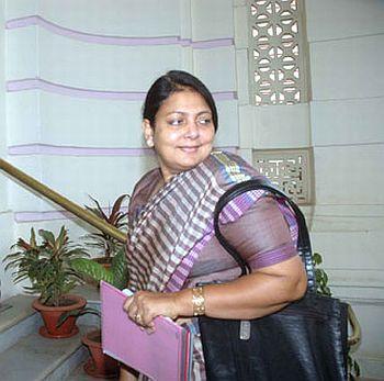 Social Welfare minister Parveen Amanullah