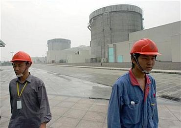A nuclear power plant in China