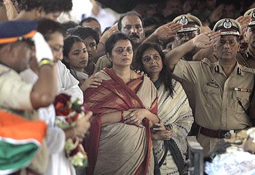 Hemant Karkare's wife Kavita