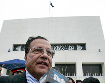 A file photo of Salman Taseer