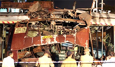 Seven bomb explosions rocked Mumbai's rail network in 2006